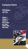 Marines Business Card Template
